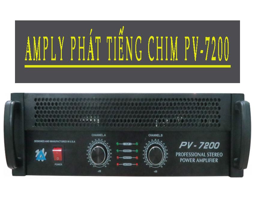 AMPLY PHÁT TIẾNG CHIM PV-7200