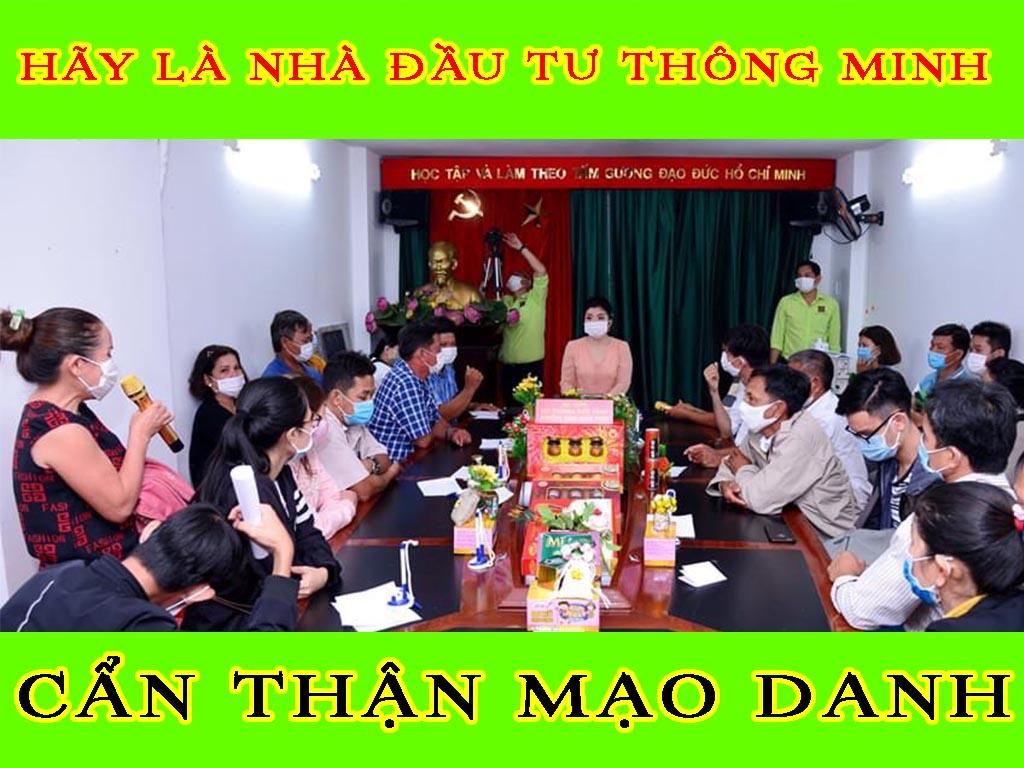 HÃY LÀ NHÀ ĐẦU TƯ THÔNG MINH - CẨN THẬN MẠO DANH